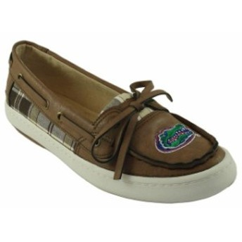 Renaissance ルネサンス スポーツ用品 Florida Gators Womens Brown Westend One Eye Moccasins