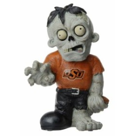 Forever Collectibles フォーエバー コレクティブル スポーツ用品  Oklahoma State Cowboys Resin Zombie Figurine