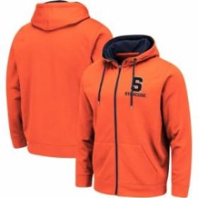 Colosseum コロセウム スポーツ用品  Colosseum Syracuse Orange Orange Performance Full-Zip Hoodie
