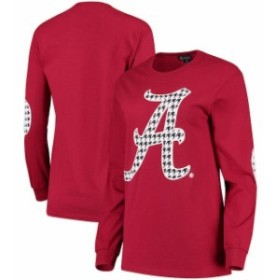 Gameday Couture ゲームデイ コーチャー スポーツ用品  Alabama Crimson Tide Womens Crimson Elbow Patch Houndstooth
