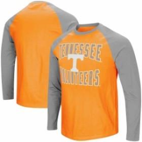 Colosseum コロセウム スポーツ用品  Colosseum Tennessee Volunteers Tennessee Orange/Gray Big And Tall Cajun Long Sleev