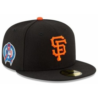 New Era ニュー エラ 服 New Era San Francisco Giants Black 2018 9/11 Authentic Collection 59FIFTY Fitted Hat