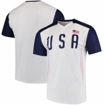 Outerstuff アウタースタッフ スポーツ用品 USA White/Navy Federation T-Shirt