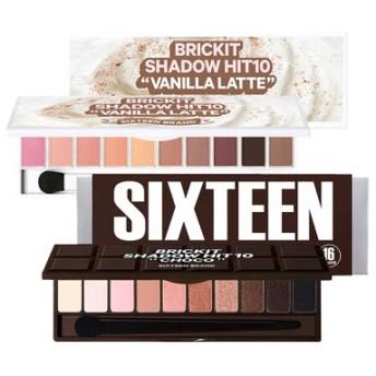 [16BRAND/16ブランド] BRICKIT SHADOW HIT 10 / ブリックイットシトアイシャドウ ヒット10 Skingarden/スキンガーデン
