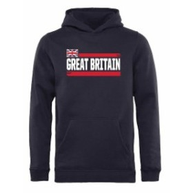 Fanatics Branded ファナティクス ブランド スポーツ用品  Fanatics Branded Great Britain Youth Navy Devoted Pullov
