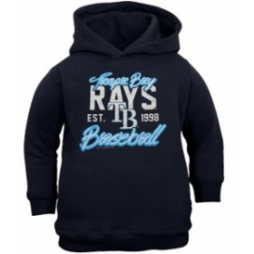 Soft as a Grape ソフト アズ ア グレープ スポーツ用品  Tampa Bay Rays Toddler Navy Blue Toddler Script Baseball P