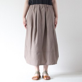 その他スカート - in the groove ■綿麻バルーンスカート『ゆったりリラックスして穿けるのが嬉しい♪ナチュラルなバルーンスカート』【in the groove,】【インザグルーヴ】