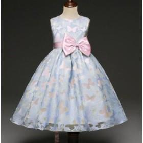 キッズドレス 女の子 フォーマルリンセスドレス発表会 結婚式 コンクール パーティードレス レース ワンピース 子供フォーマルドレス