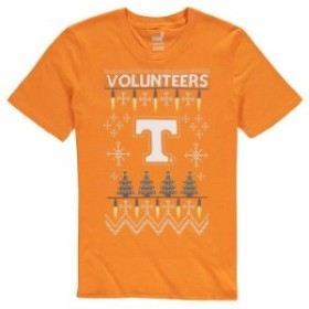 Outerstuff アウタースタッフ スポーツ用品  Tennessee Volunteers Youth Tennessee Orange Light the Tree Ugly Christma