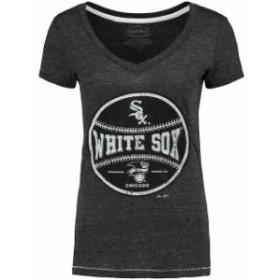 Industry Rag インダストリー ラグ スポーツ用品  Chicago White Sox Womens Charcoal Hometown T-Shirt