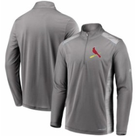 Majestic マジェスティック アウターウェア ジャケット/アウター Majestic St. Louis Cardinals Gray Perfect M