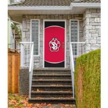 Victory Corps. ビクトリー コープス スポーツ用品 South Dakota Coyotes 36 x 80 Logo Front Door Decor