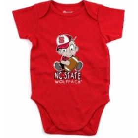 Boxercraft ボクサークラフト スポーツ用品  NC State Wolfpack Newborn & Infant Red Fan Essential Bodysuit