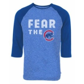 Majestic Threads マジェスティック スレッド スポーツ用品  Majestic Threads Chicago Cubs Royal Fear Tri-Blend Ra