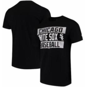 New Era ニュー エラ スポーツ用品  New Era Chicago White Sox Black Bars Jersey T-Shirt