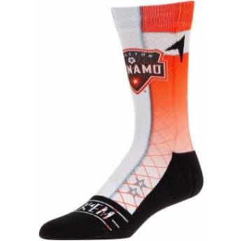 Rock Em ロックイーエム スポーツ用品 Houston Dynamo Orange Jersey Crew Socks
