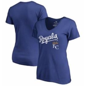 Fanatics Branded ファナティクス ブランド スポーツ用品  Fanatics Branded Kansas City Royals Womens Royal Team Lo