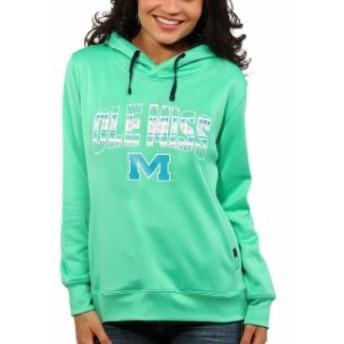Step Ahead Sportswear ステップ アヘッド スポーツウェア スポーツ用品 Ole Miss Rebels Womens Mint Green Spor