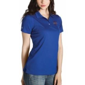 Antigua アンティグア スポーツ用品  Antigua Tulsa Golden Hurricane Womens Royal Desert Dry Inspire Polo