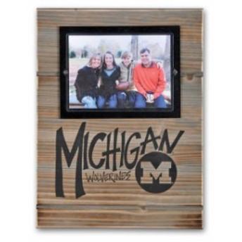 Magnolia Lane マグノリア レーン スポーツ用品 Michigan Wolverines 11 x 14.5 Wood Frame