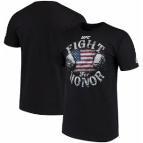 Reebok リーボック スポーツ用品  Reebok UFC Black USA Fight for Honor T-Shirt