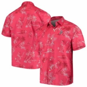 Tommy Bahama トミー バハマ スポーツ用品  Tommy Bahama Boston Red Sox Red Seventh Inning Button-Up Shirt