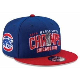 New Era ニュー エラ スポーツ用品  New Era Chicago Cubs Royal/Red 2016 World Series Champions Two-Tone 9FIFTY Snapback
