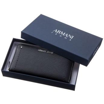 ARMANI JEANS/アルマーニジーンズ 長財布 928032 CD756ブラック