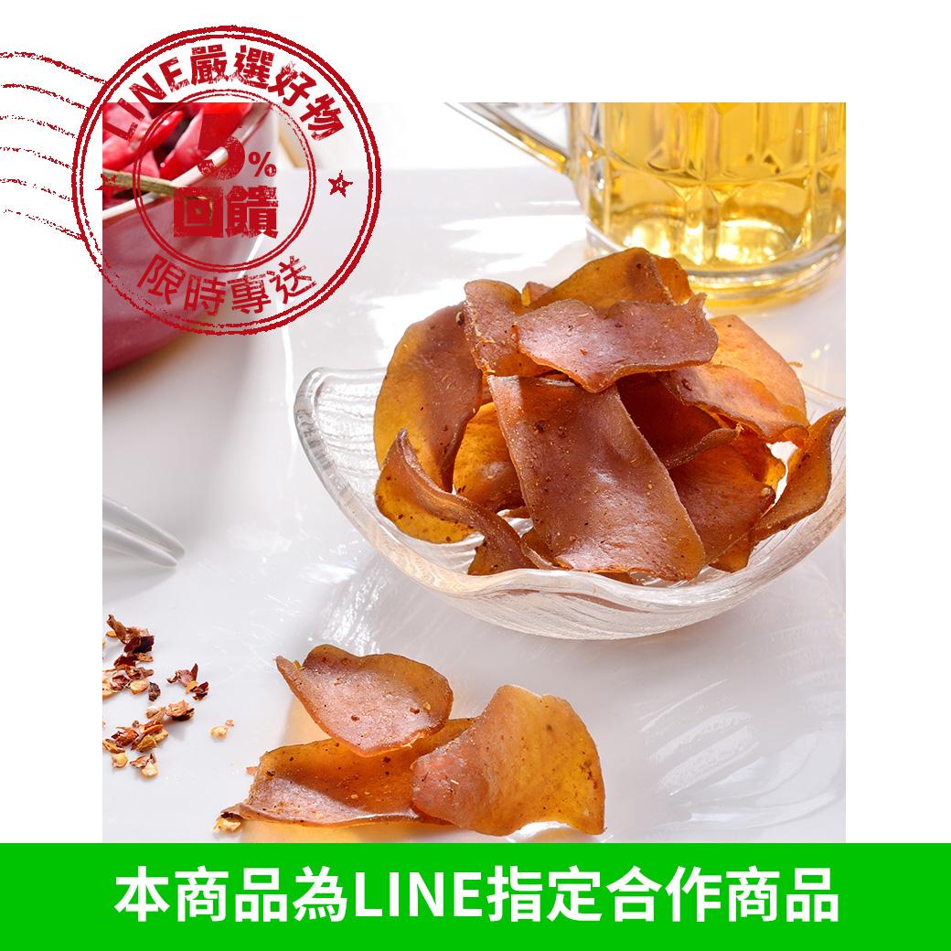 高纖辣味蒟蒻薄片大包裝420G 每日優果