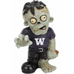 Forever Collectibles フォーエバー コレクティブル スポーツ用品  Washington Huskies Resin Zombie Figurine