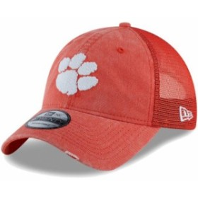 New Era ニュー エラ スポーツ用品  New Era Clemson Tigers Orange Tonal Washed Trucker 2 9TWENTY Snapback Hat