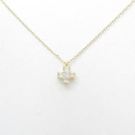 ヴァンドーム クロス ダイヤモンドネックレス