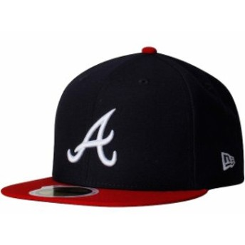 New Era ニュー エラ スポーツ用品 New Era Atlanta Braves Womens Navy Authentic Collection On-Field 59FIFTY Fitted Hat