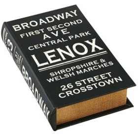 本型の小物入れ - ブックストレージボックス - - Broadway ブロードウェイ - インターフォルム(INTER