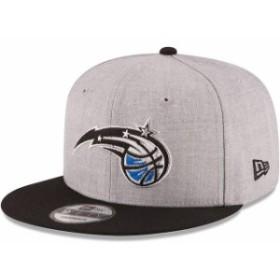 New Era ニュー エラ スポーツ用品  New Era Orlando Magic Heathered Gray/Royal Two-Tone 9FIFTY Snapback Adjustable Hat