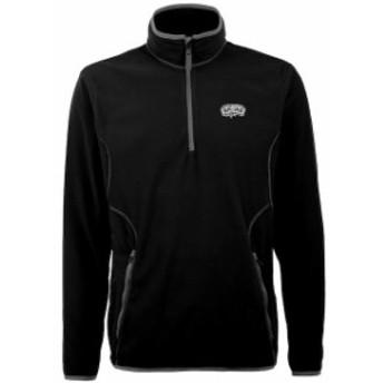 Antigua アンティグア スポーツ用品  Antigua San Antonio Spurs Black Ice 1/4 Zip Lightweight Pullover Jacket