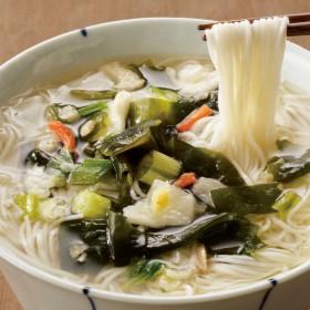 鳥菜にゅう麺 (8食セット)