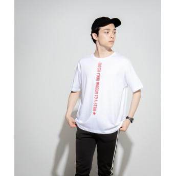 Tシャツ - WEGO【MEN】 バーチカルロゴT(S) WE19SM04-M0352