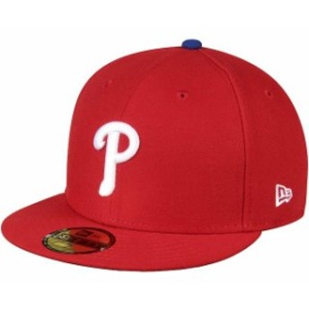 New Era ニュー エラ スポーツ用品 New Era Philadelphia Phillies Womens Red Authentic Collection On-Field 59FIFTY Fitt