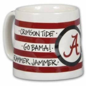 Magnolia Lane マグノリア レーン スポーツ用品  Alabama Crimson Tide 16oz. Team Logo Striped Artwork Mug