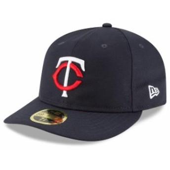 New Era ニュー エラ スポーツ用品 New Era Minnesota Twins Navy Fan Retro Low Profile 59FIFTY Fitted Hat