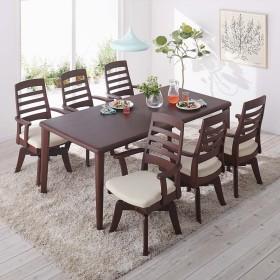 角が丸くて優しい天然木ダイニング テーブル 4本脚 幅180奥行90cmナチュラル