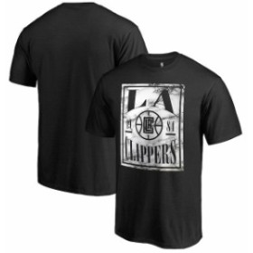 Fanatics Branded ファナティクス ブランド スポーツ用品  Fanatics Branded LA Clippers Black Court Vision T-Shirt