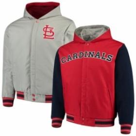 JH Design ジェイエイチ デザイン アウターウェア ジャケット/アウター JH Design St. Louis Cardinals Red/N