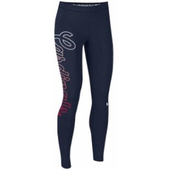 Under Armour アンダー アーマー スポーツ用品 Under Armour St. Louis Cardinals Womens Navy Limitless Logo Leggings