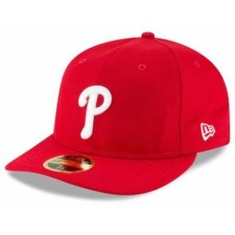 New Era ニュー エラ スポーツ用品 New Era Philadelphia Phillies Red Fan Retro Low Profile 59FIFTY Fitted Hat