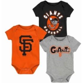 Outerstuff アウタースタッフ アクセサリー  San Francisco Giants Newborn & Infant Black/Orange/Gray Everyday Fan Thr