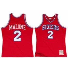 Mitchell & Ness ミッチェル アンド ネス スポーツ用品  Mitchell & Ness Moses Malone Philadelphia 76ers Red 1982 -