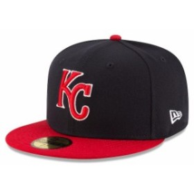 New Era ニュー エラ スポーツ用品  New Era Kansas City Royals Navy/Red Country Colors Redux 59FIFTY Fitted Hat