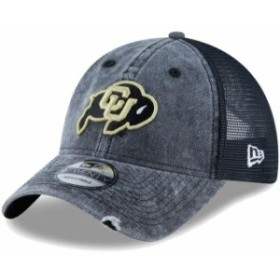 New Era ニュー エラ スポーツ用品  New Era Colorado Buffaloes Black Tonal Washed Trucker 2 9TWENTY Snapback Hat